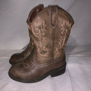 Cherokee Toddler girls brown Boots sz.6